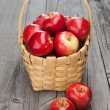 Juicy fresh apples  — Stock Photo