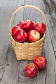 Saftige frische äpfel — Stockfoto