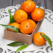 Fresh mandarins — Stock Photo #38762863