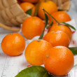 Fresh organic tangerines — Stock Photo #38762899
