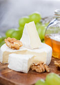 Baked Camembert cheese — Stock Photo