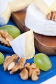 Baked Camembert cheese — Stock Photo
