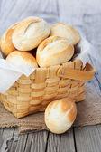 Fresh buns — Stock Photo