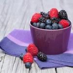 Assorted fresh berries — Stock Photo #40244819
