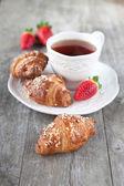 Morning breakfast — Stock Photo