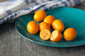 Raw kumquats — Stock Photo