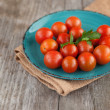 Stock Photo: Cherry tomatoes