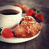 Morning breakfast — Stockfoto
