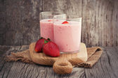 Strawberry smoothie — Stockfoto