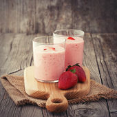Smoothie aux fraises — Photo