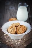 Cookies a mléko — Stock fotografie