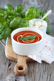 Gaspacho soupe tomate — Photo