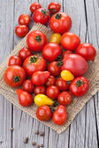 Group of fresh tomatoes — Stock Photo