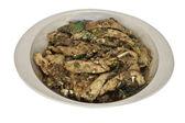 Spicy pork salad — Stock Photo