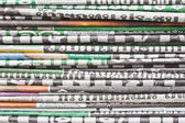 The stack of newspaper — Stock Photo