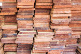 The stack of log — Foto Stock