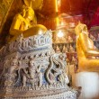 Statue of Buddha in thai temple — Stock Photo #28106405