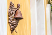 The vintage brass bell — Stockfoto