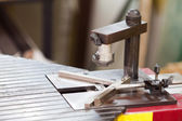 Picture frame making tool — Stock Photo