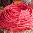 Stock Photo: Synthetic red rope