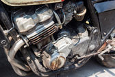 Starý motor motocyklu — Stock fotografie