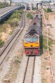 Running train — Stock Photo