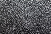 Background and  texture of old black leather — Photo
