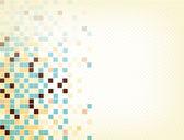Retro cube color background — Stock Vector