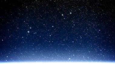 Padający śnieg — Wideo stockowe