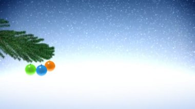 Christmas tree — Wideo stockowe