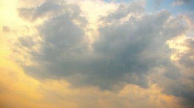 Evil sky time lapse — Stock Video