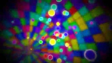 Inside discoball loop — Stock Video