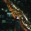 Stock Video: Bangkok traffic zoom 1 time lapse