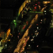 Stock Video: Bangkok traffic zoom 3 time lapse