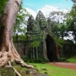 Stock Video: Angkor Thom temple time lapse loop