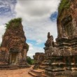 Stock Video: Pre Rup temple time lapse loop