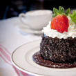 Delicate Chocolate Cake — Stock Photo #12736503