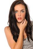 Retrato de mulher bonita — Foto Stock