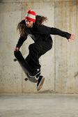 Skater skoki — Zdjęcie stockowe