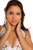 Portrait of Yougn Hispanic Woman — Stock Photo