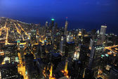 Aerial View of Chicago — Foto de Stock
