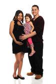 Hispánský rodina — Stock fotografie