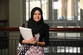 Islamiska student — Stockfoto