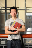 Portrait of Asian Student — Stock Photo