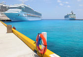 Cruise Ships in Tropical Waters — Stock Photo