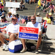 Tea Party Rally in Saint Louis Missouri - Stockfoto