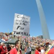 Stock Photo: Tea Party Rally in Saint Louis Missouri