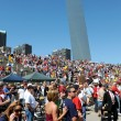 Tea Party Rally in Saint Louis Missouri — Stock Photo #13518675