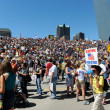 Tea Party Rally in Saint Louis Missouri — Stock Photo #13518685