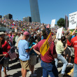 Tea Party Rally in Saint Louis Missouri — Stock Photo